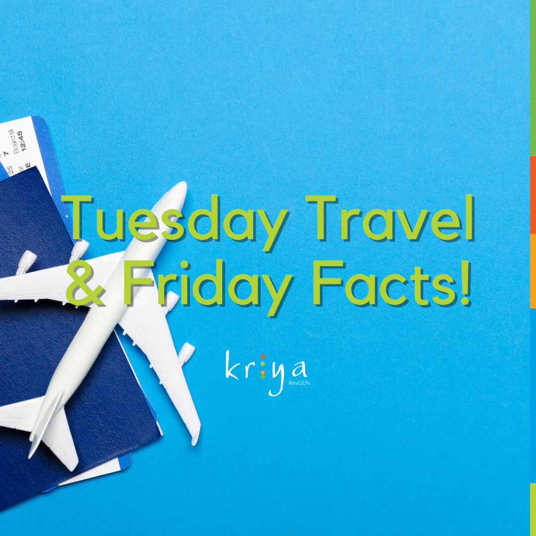 2020 Roundup: Friday Facts and Tuesday Travel Series